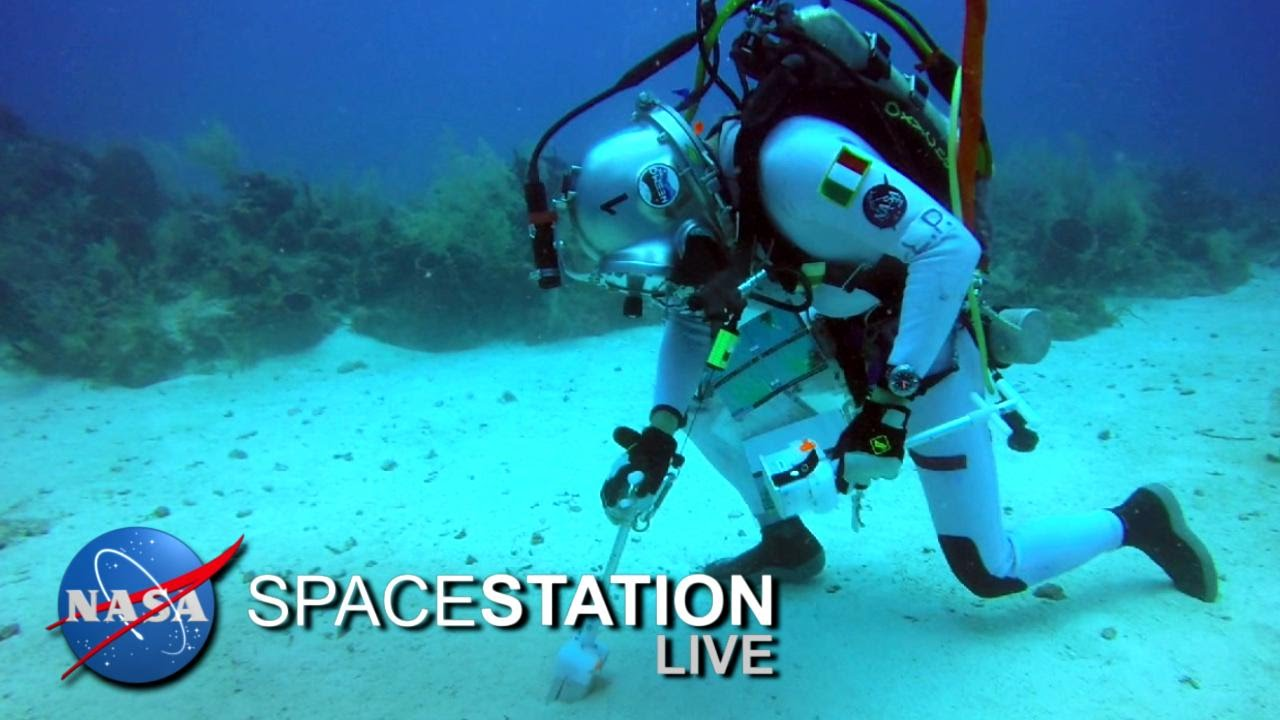 Space Station Live: From Underwater, The NEEMO Commander ...