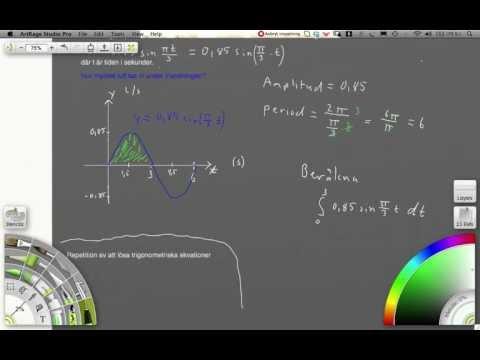 7461 (tillämpning integraler) Ma D