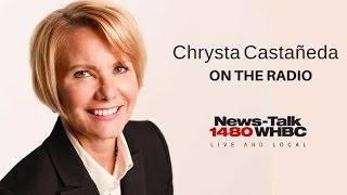 Chrysta Castañeda LIVE on the radio in Canton, Ohio on 3/23/17