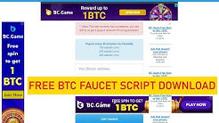 How To Create Professional Faucet Websiite And Download Free Faucet Script