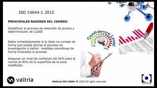 Webinar Valtria Nueva ISO 14644 1 2 2015 impacto en la Industria Farmacéutica