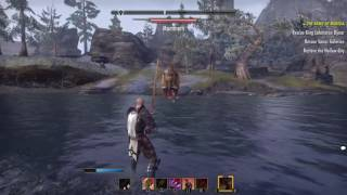 Elder Scrolls Online- Playthrough Gameplay (No commentary) Solo