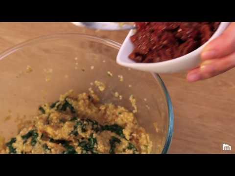 muffins-quinoa/épinards/-tomates-séchées