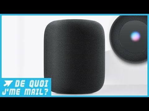 A quoi sert HomePod la nouvelle enceinte Apple ?  DQJMM (1/2)