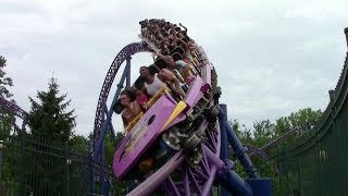 Bizarro off-ride HD Six Flags New England