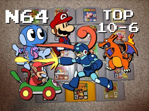 My N64 Collection Top 10 Favorite Games 10 6