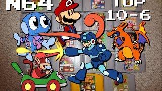 My N64 Collection & Top 10 Favorite Games (#10 6)   Kirblog 12/3/13