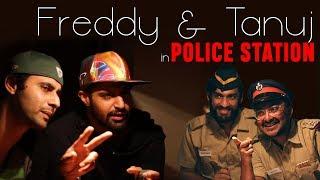 Freddy Daruwala & Tanuj Virwani in Police Station | Poison | A Zee5 Original