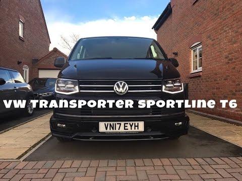 Transporter Sportline T6 2017 204ps Walkround