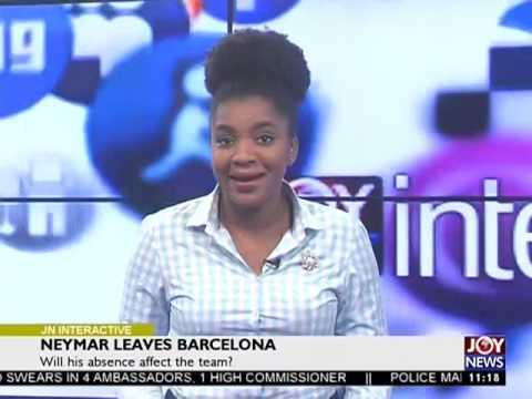 Will Neymar's absence affect Barcelona? - Joy News Interactive (3-8-17)
