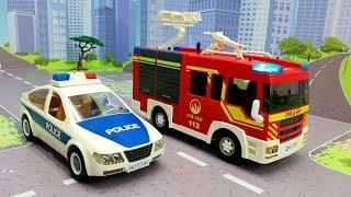 Мультики про машинки с игрушками Щенячий патруль - Пропали машины.