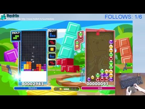 Puzzle League w/ Wumbo! Rank #4 Worldwide 23407➜23695 [Switch]