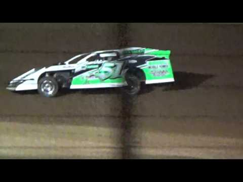 Sabine Motor Speedway Modified heat race 1 part 2 3/19/16