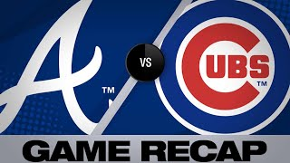 Albies' go-ahead HR leads Braves to win | Braves-Cubs Game Highlights 6/25/19