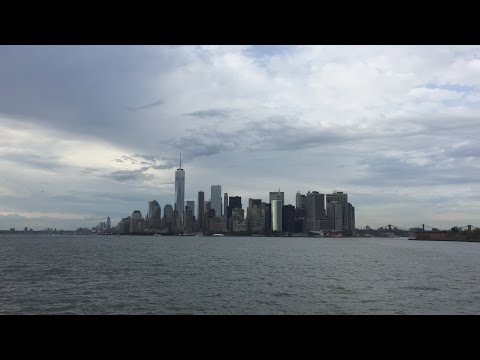 Staten Island Ferry HD 60 FPS: Round Trip Ride Between South Ferry & Saint George 6/7/16