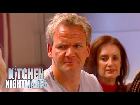 Gordon Ramsay Crashes A Disastrous Cooking Lesson | Kitchen Nightmares