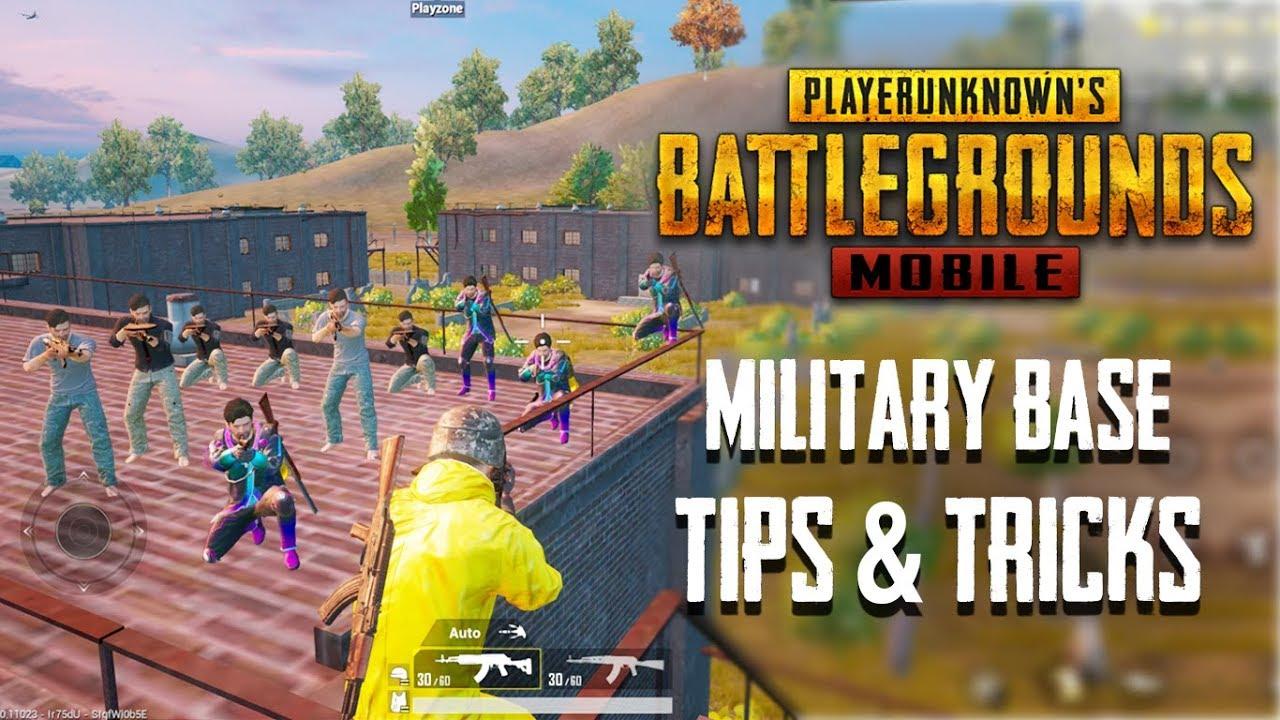 Top 20 des trucs et astuces pour une base militaire dans PUBG Mobile | Guide ultime pour devenir un pro # 7 + vidéo