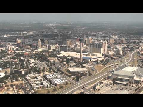 Helicopter Tour at San Antonio, August 2011