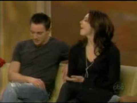 : Jonathan Rhys Meyers on The View 32008