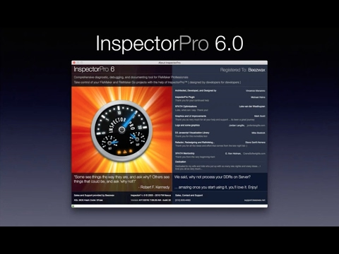 InspectorPro Demo - FileMaker Performance, Collaboration and Insight