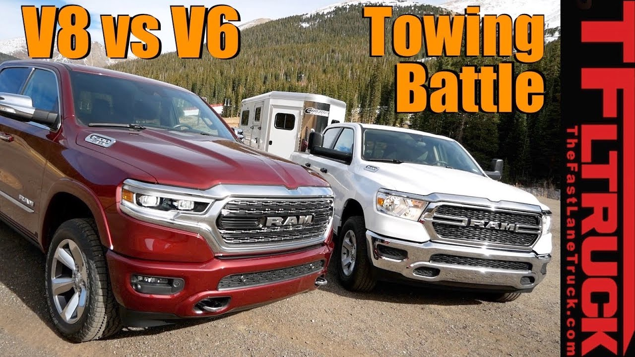 2019 Ram 1500 V6 Vs V8 Etorque Take On The World S Toughest Towing Test Ike Gauntlet