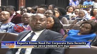 2018 UNIBEN ICT Day: Experts stress need for corporate data security