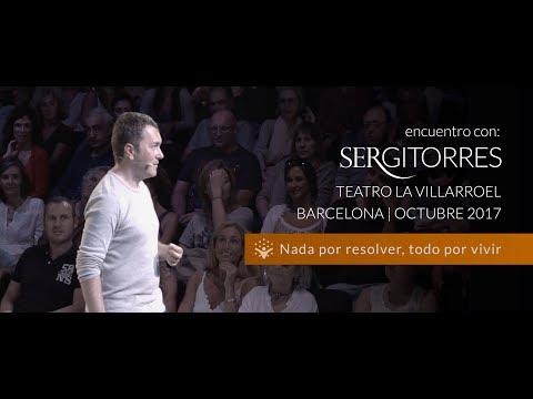 """SERGI TORRES - TEATRO VILLARROEL """"Nada por resolver, todo por vivir"""" - Octubre 2017"""