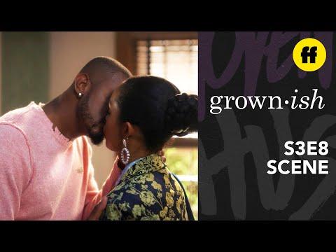Grown Ish Season 2 Finale Zoey Aaron Kiss Freeform Youtube