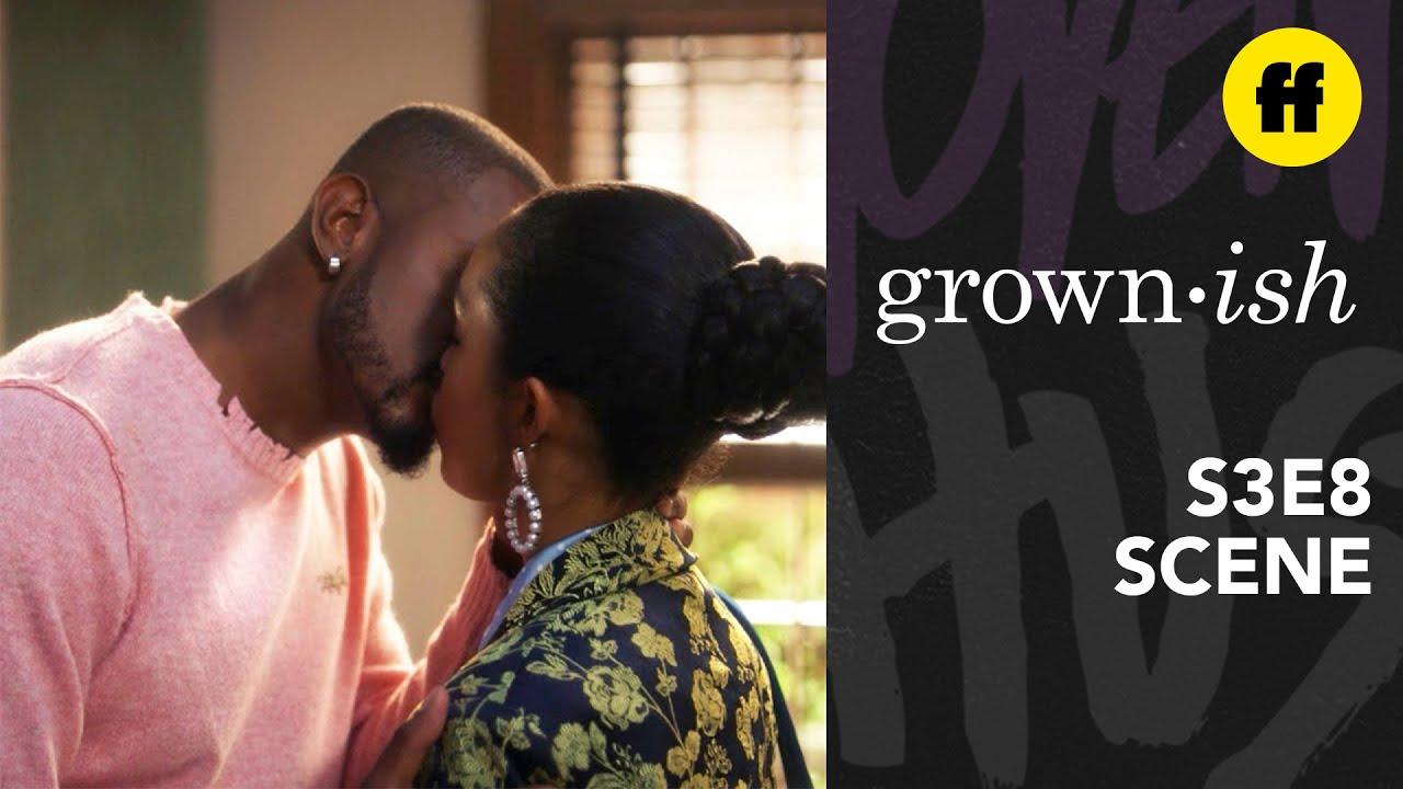 Grown Ish Season 3 Episode 8 Aaron Zoey Kiss Goodbye