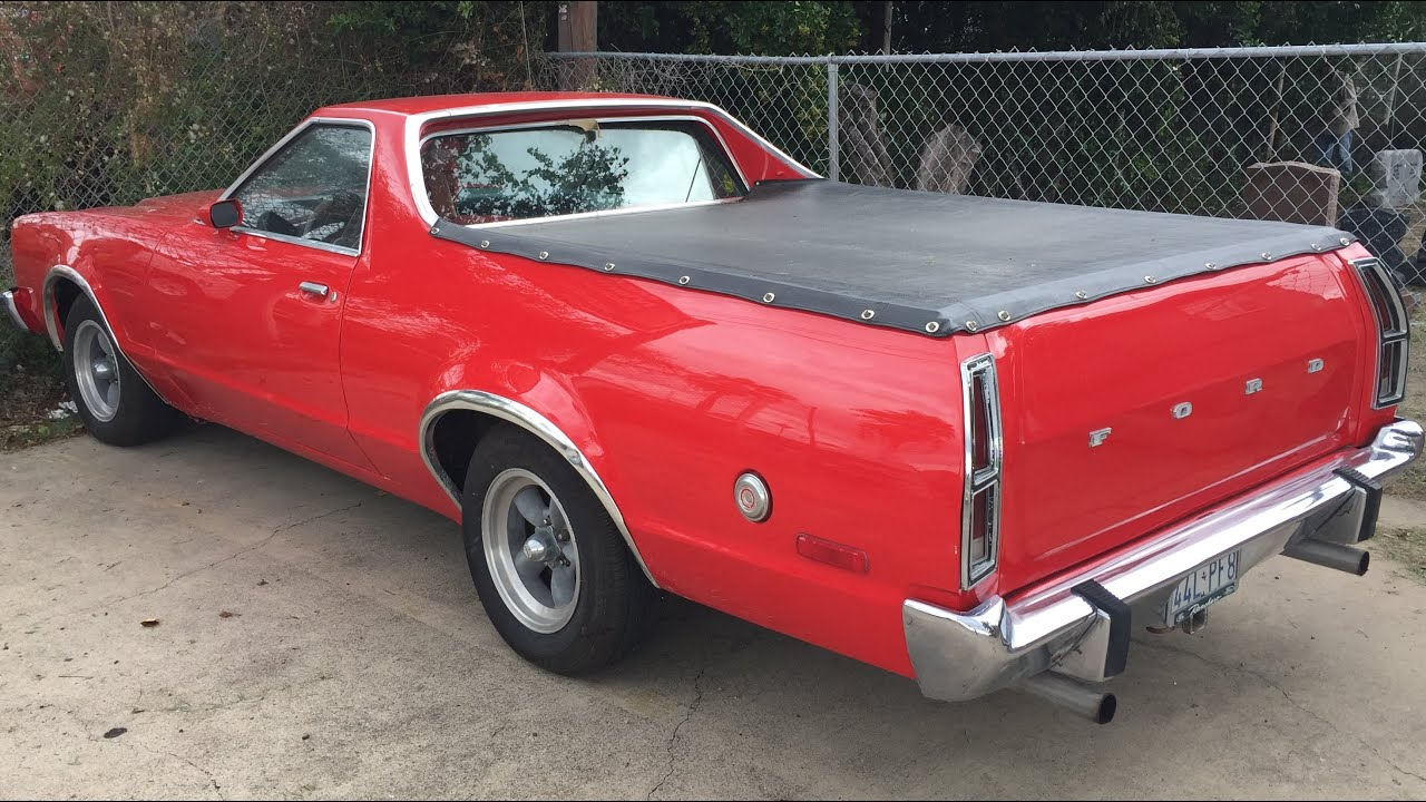 hight resolution of ford ranchero 1977 1979 360 degrees walk around the car