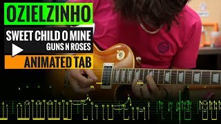 Ozielzinho SWEET CHILD O MINE - Animated Tab.mp3