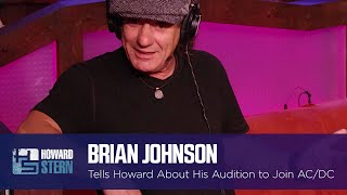 Brian Johnson's Audition for AC/DC (2011)