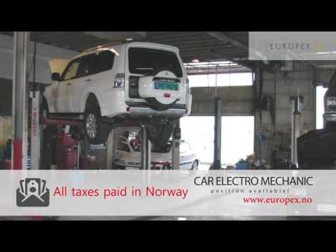 JOB for CAR ELECTRO MECHANIC in Norway