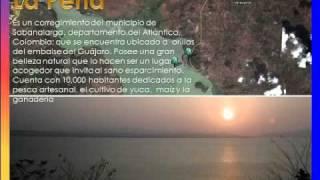 Inundación de la Peña, Corregimiento del Municipio de Sabanalarga
