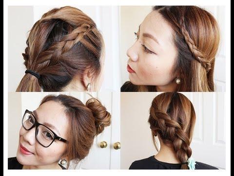 4 school hairstyles