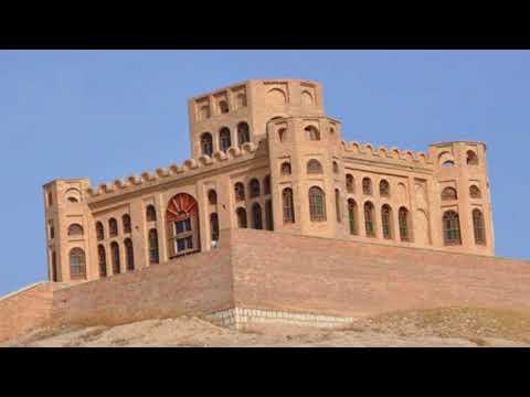Historical Sherwana Castle in Kurdistan damaged by earthquake