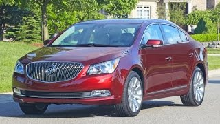 2016 Buick Lacrosse Start Up and Review 3.6 L V6