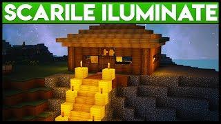 Minecraft ca Golanii : Construim Scarile Iluminate !