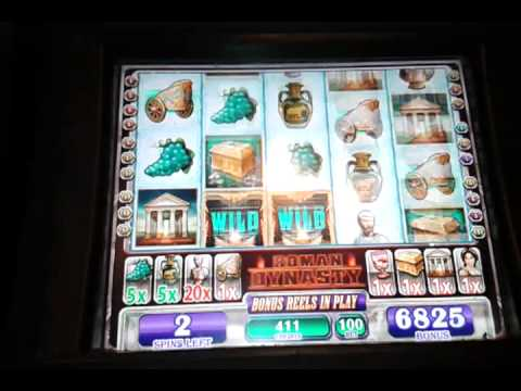 Roman dynasty slot machine house fun casino
