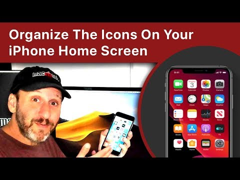 How To Organize The Icons On Your iPhone Home Screen
