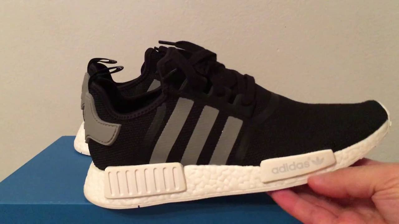 Adidas NMD R1 Champs B39505 3M Black White New Housakicks