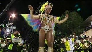 Sambaparade in Rio 2012