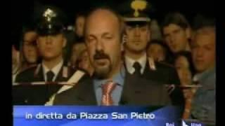 ANNUNCIO MORTE GIOVANNI PAOLO II - Bruno Vespa - 242005