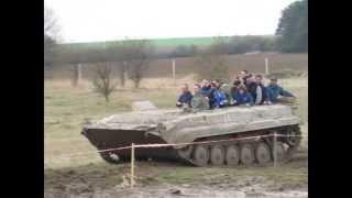 BVP a Truck trial - tankodrom Milovice (AIFV)