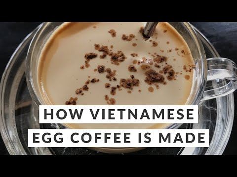 How Vietnamese Egg Coffee Is Made (From Start To Finish)