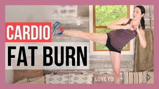 HIIT Fat Burning Cardio Workout - Quick Intense Workout for Weight Loss {10 min}