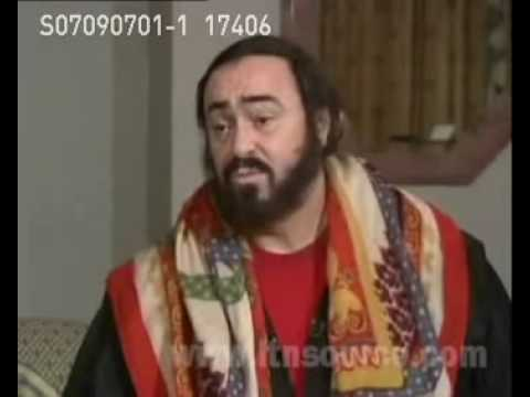 Luciano Pavarotti interview
