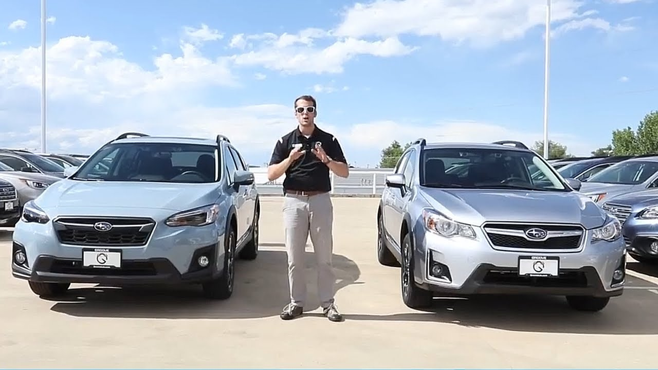 What Is The Difference Between 2017 And 2018 Subaru Crosstrek Suv Comparison
