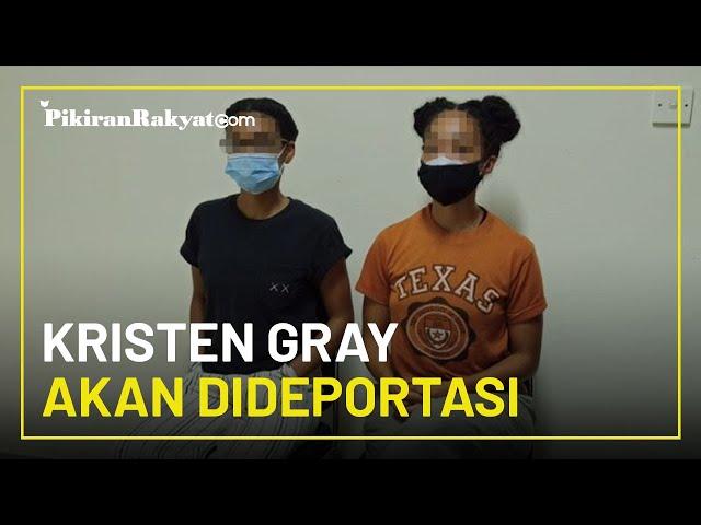 Cuitannya Viral di Twitter, WNA Amerika Serikat Kristen Gray akan Dideportasi Ditjen Imigrasi