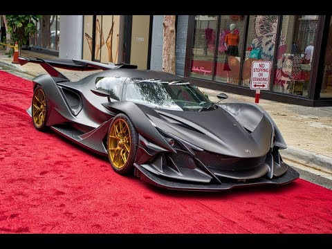 Pagani, Bugatti, Apollo IE, De Tomaso P72  Best Hypercars Supercars Arriving to Miami Councours 2020